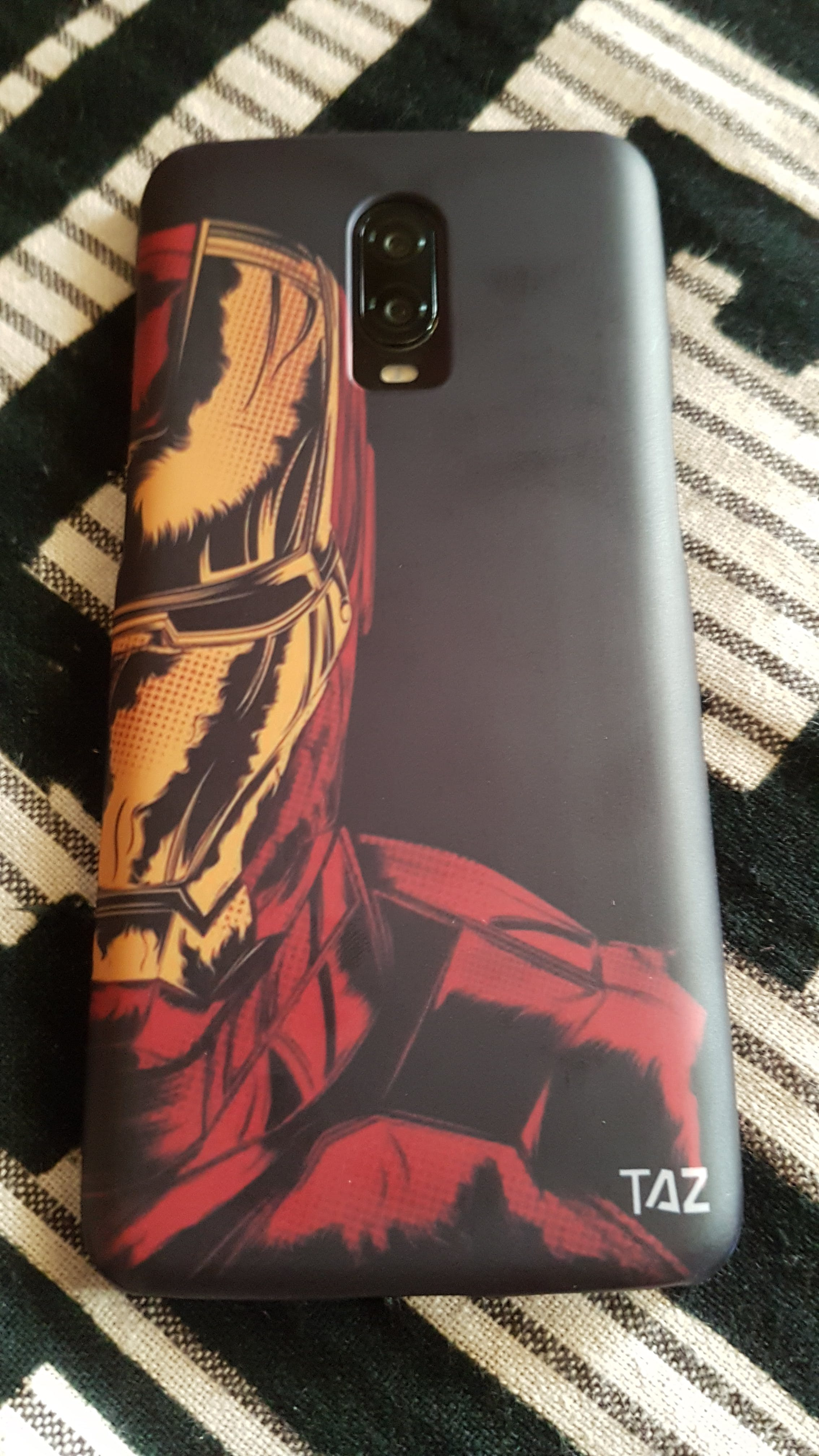 TraTec Ironman Printed Case For OnePlus 6T
