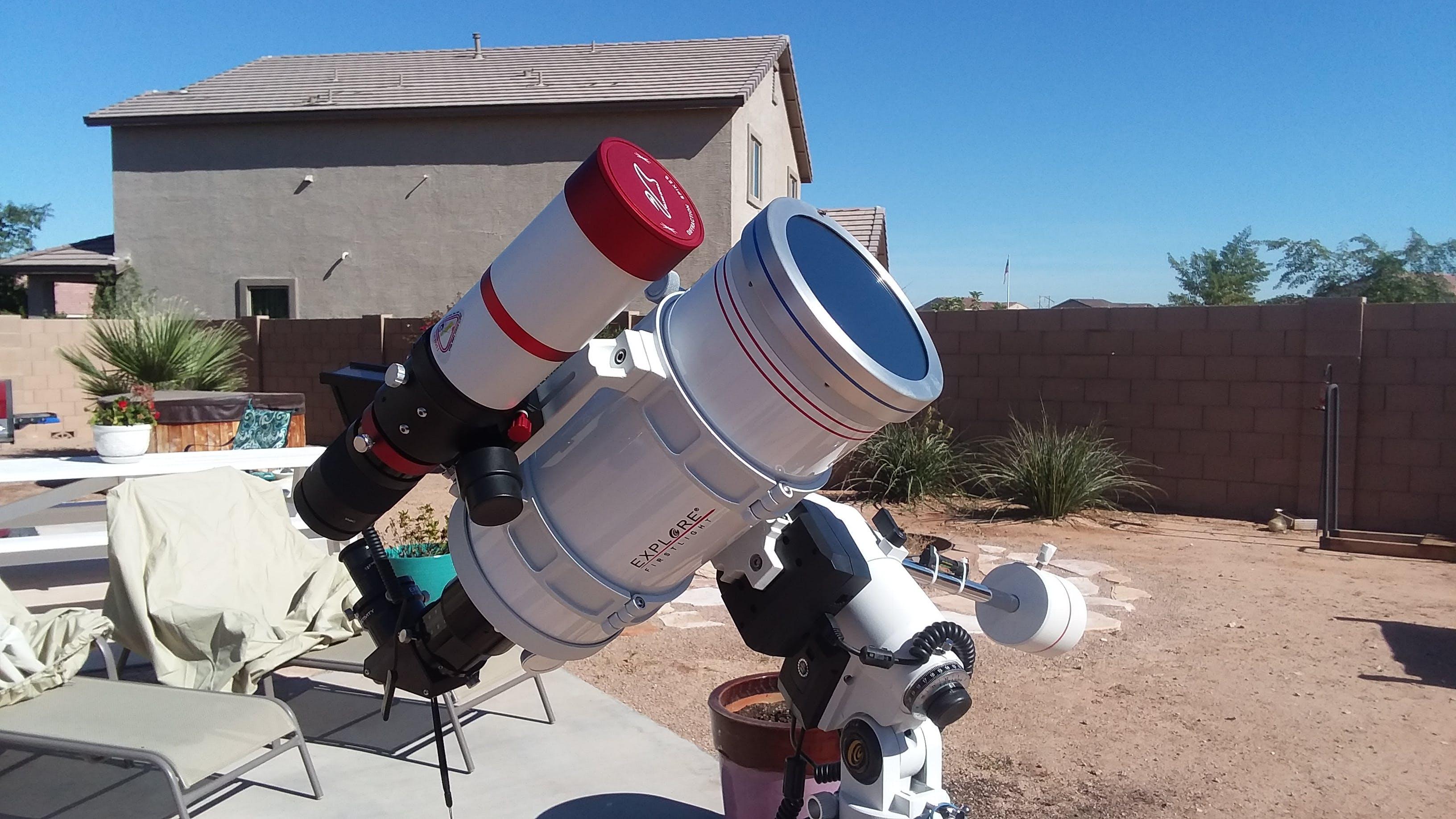 Meade polaris mm f equatorial reflector telescope