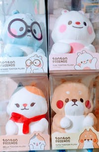 Tonton Friends Tonton Plush Set