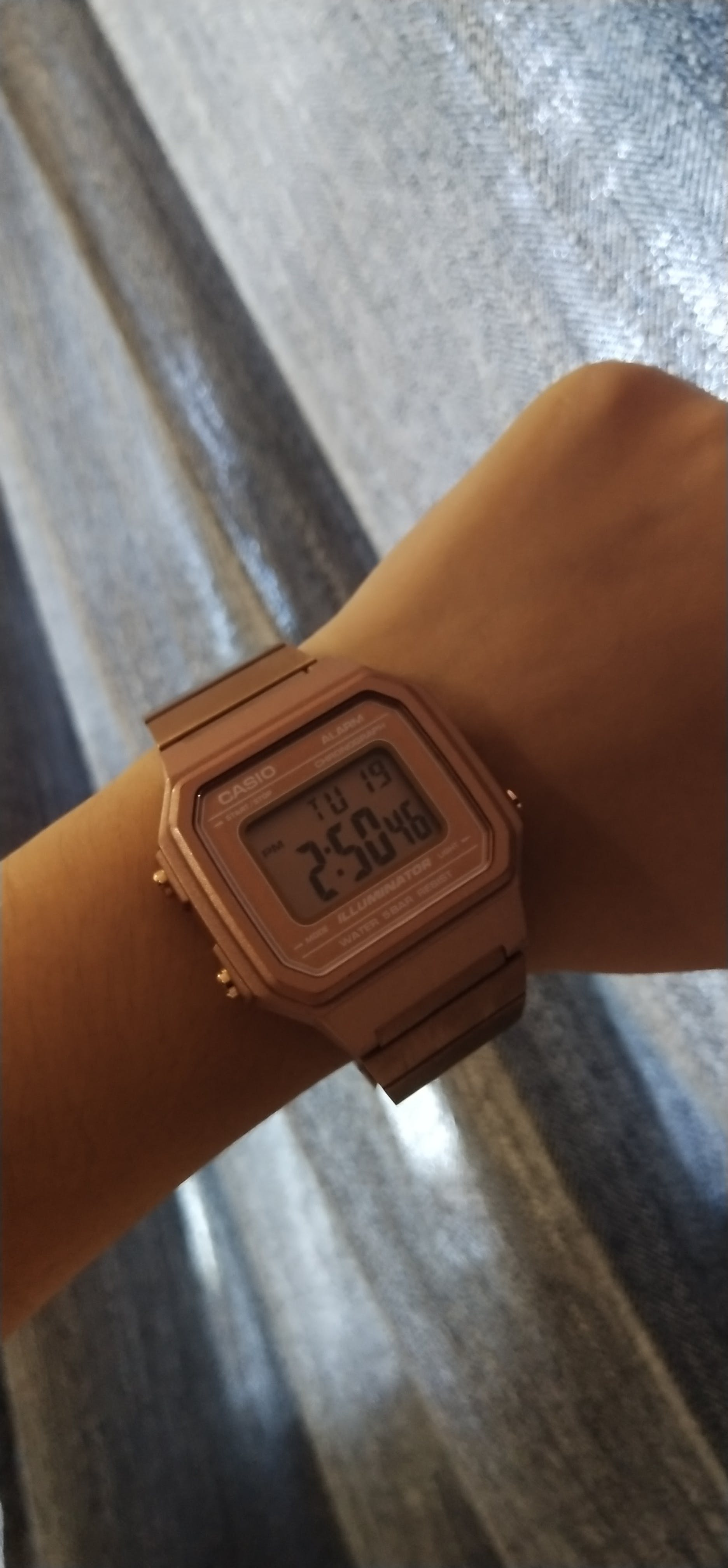 1e560b98c Casio Vintage B650WC-5A Rose Gold Watch for Men and Women