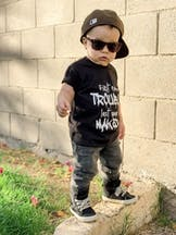 Trouble Maker Children's Shirt
