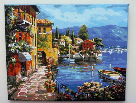 Venice Seascape Resort - Paint by Numbers Kit for Adults