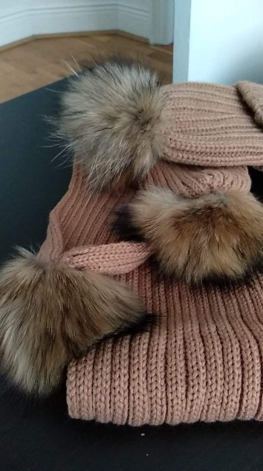 Raccoon Fur (2 Pieces Set) 3-5 Year
