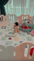 LOVE U Baby Play Yard with Door Set (10pcs 220x148cm)