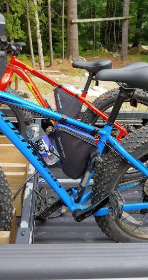 NWT Aduro Sport Pro Cycle Triangle Storage Bag Bicycle Bike
