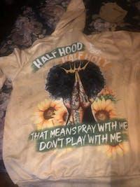 Half Hood Half Holy All Over Hoodie