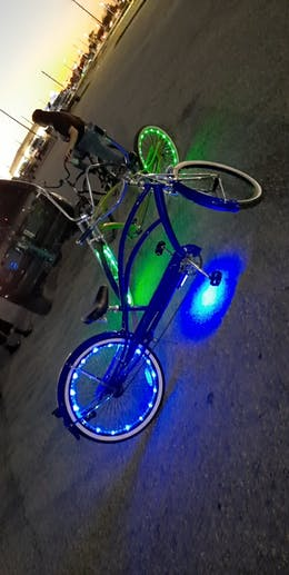 Micargi MUSTANG GTS – 26″ Stretch Cruiser Bike