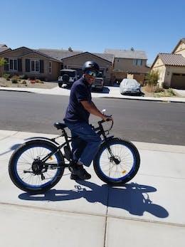 Fat Tire Electric Bike Beach Snow 26S900USB - Ecotric