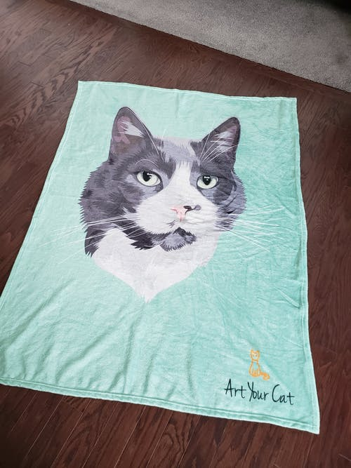 Custom (Your Pet) Fleece Blanket
