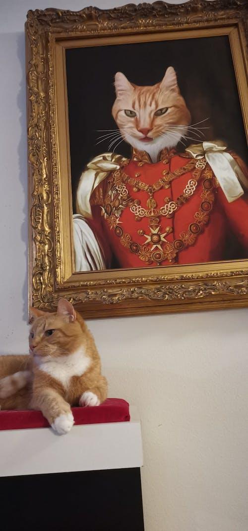 Male Royal Portrait - Custom (Your Pet) Canvas Art