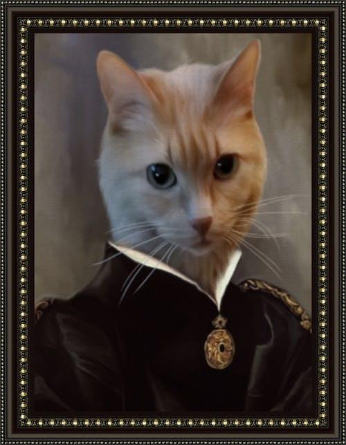 The Empress - Custom (Your Pet) Royal Portrait