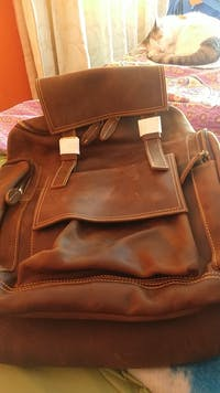 Frederick - Premium Leather Travel Backpack