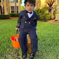 Nautical Captain 5pc Suit 6m-7
