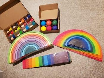 Rainbow Building Boards