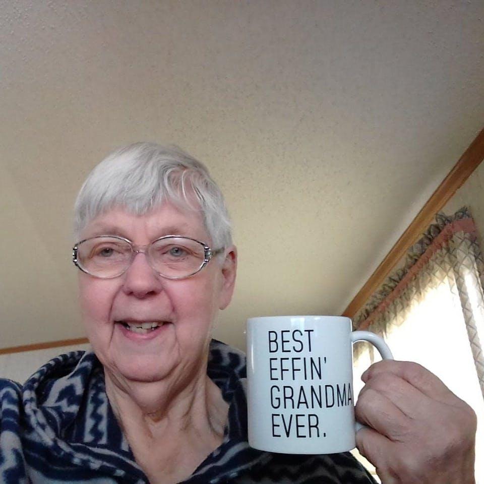 Funny Grandma Gift: Best Effin' Grandma Ever. Coffee Mug 11oz