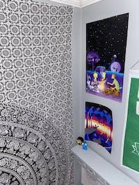 Bonfire Trip Holographic Print