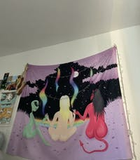 My Three Personalities Tapestry