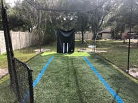Commercial Style Batting Cage Package Deal