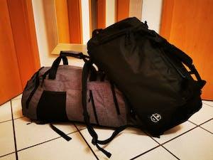 Bearformance® Ultimate Sportbag - Sporttasche mit Schuhfach, Nassfach & Rucksackfunktion