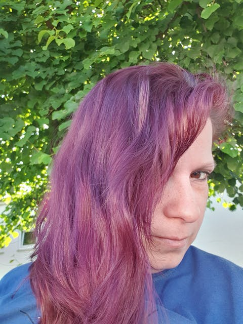 Punky Colour Plum - Purple Semi-Permanent Conditioning Hair Colour - Lasts 25+ Washes