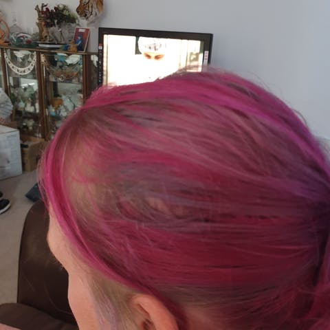 Punky Colour Flamingo Pink - Semi-Permanent Conditioning Hair Colour - Lasts 25+ Washes