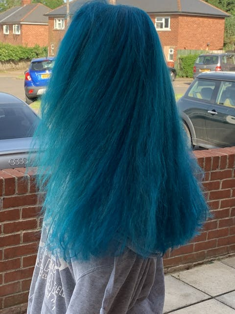Punky Colour Turquoise Semi-Permanent Conditioning Hair Colour (3 PACK)