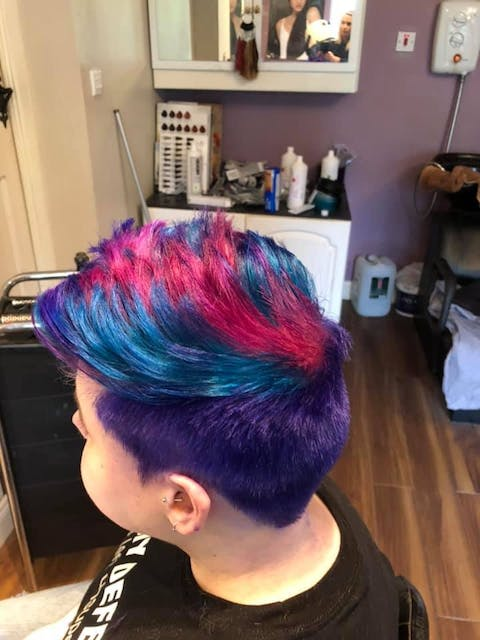 Punky Colour Purple - Semi-Permanent Conditioning Hair Colour - Lasts 25+ Washes