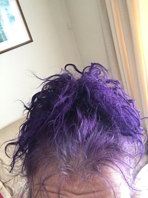 Punky Colour Violet - Semi-Permanent Conditioning Hair Colour - Lasts 25+ Washes