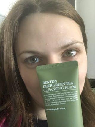 Deep Green Tea Cleansing Foam 120g