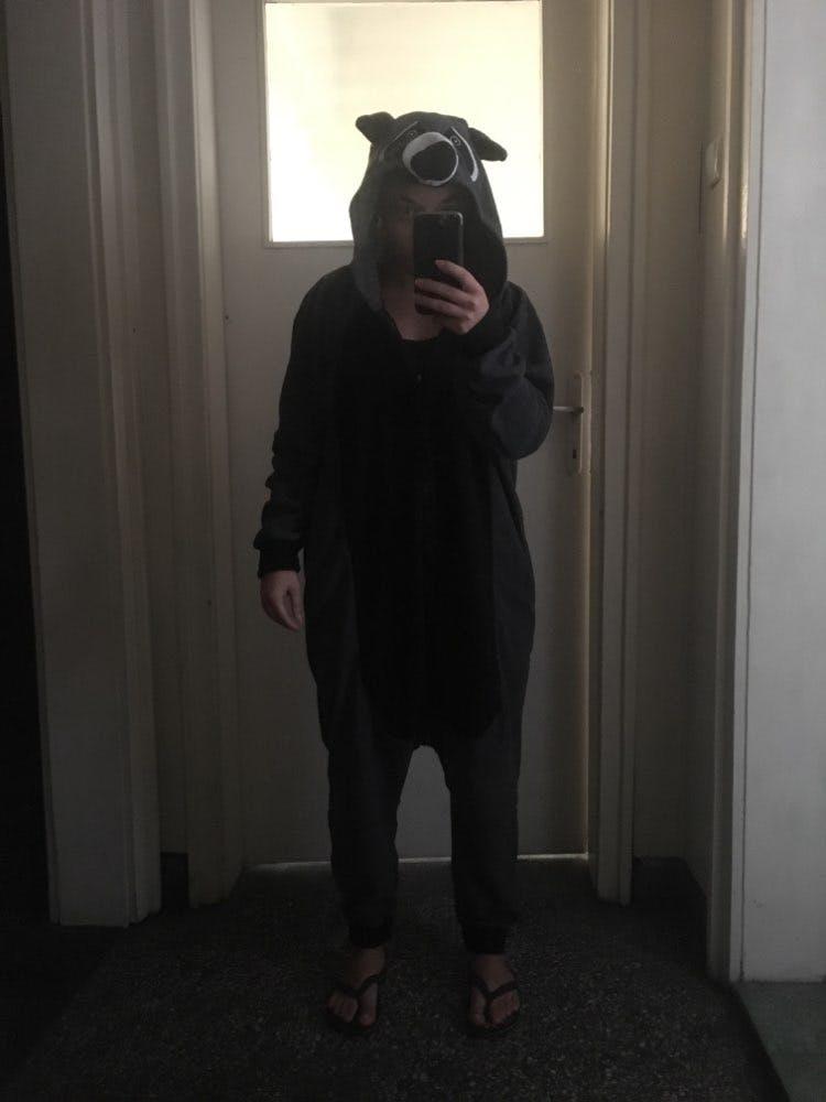 Raccoon Onesie for Adults   Kigurumi Style Adult Onesie Pajamas
