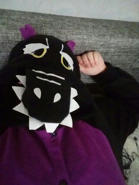 Purple Dragon Onesie for Adults   Kigurumi Style Adult Onesie Pajamas