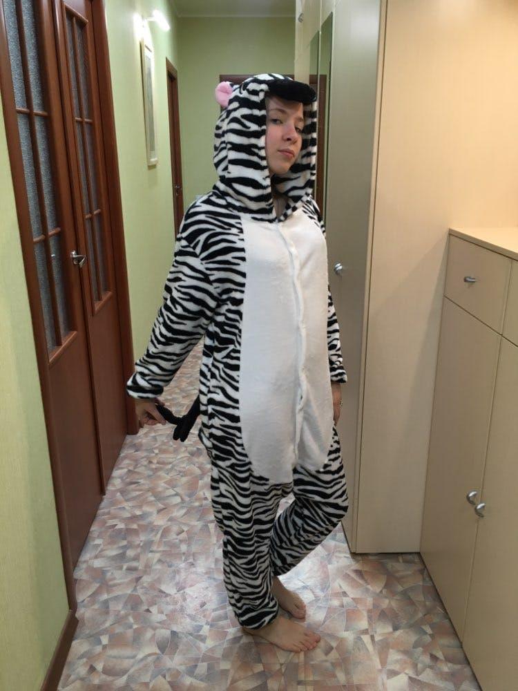 Zebra Onesie for Adults   Kigurumis for Men & Women