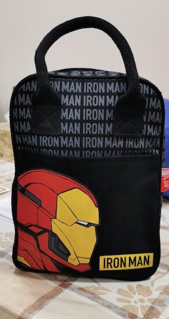 Iron Man Canvas Lunch Bag