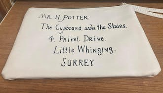 Official Hogwarts Letter Pouch - Harry Potter