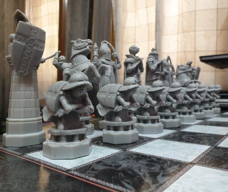 Official Harry Potter Wizard Chess Set