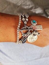Compass Bracelet, Not All Who Wander