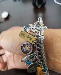 Cleopatra Egyptian Charm Bracelet