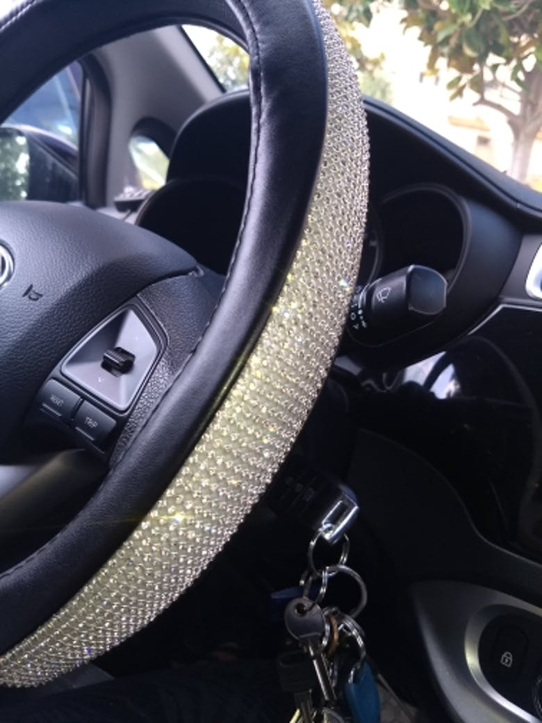 Bling Bling Rhinestones Crystal car accessories