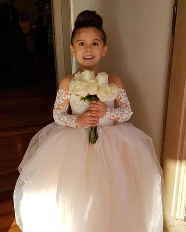 Boho Flower Girl Dresses for Wedding | Ship from USA
