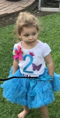 3rd Birthday Butterfly Shirt