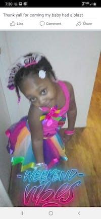 5th Birthday Girl Outfit - Rainbow Unicorn