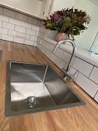 Willow 600x450 Medium Single Bowl Sink