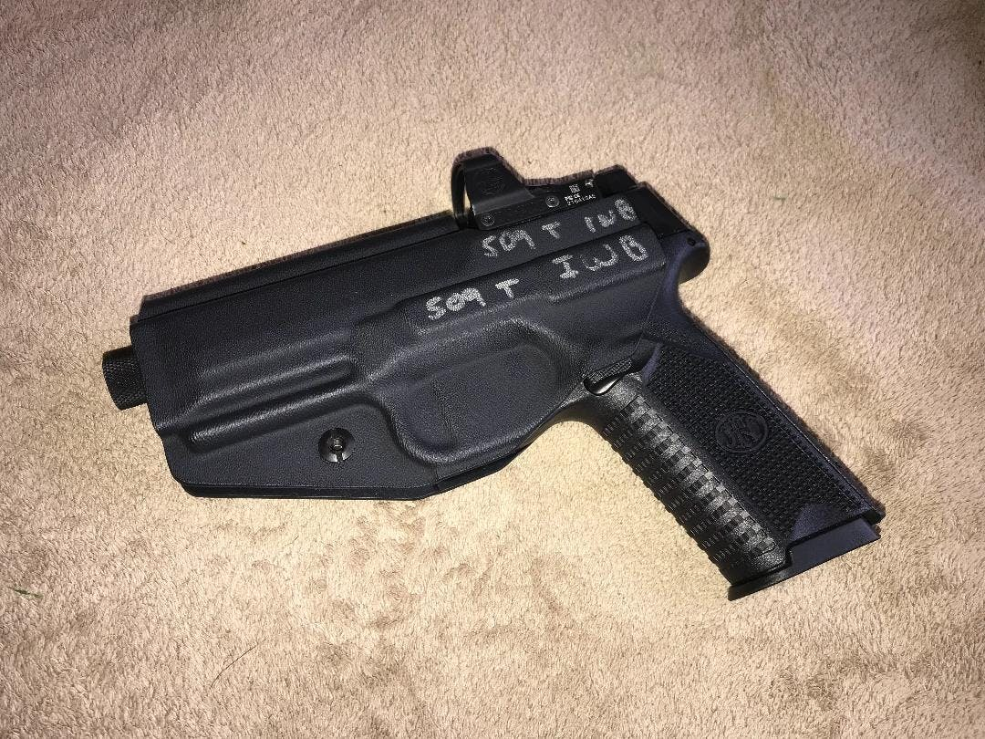 FN 509 Tactical OWB Covert Kydex Holster - Quickship
