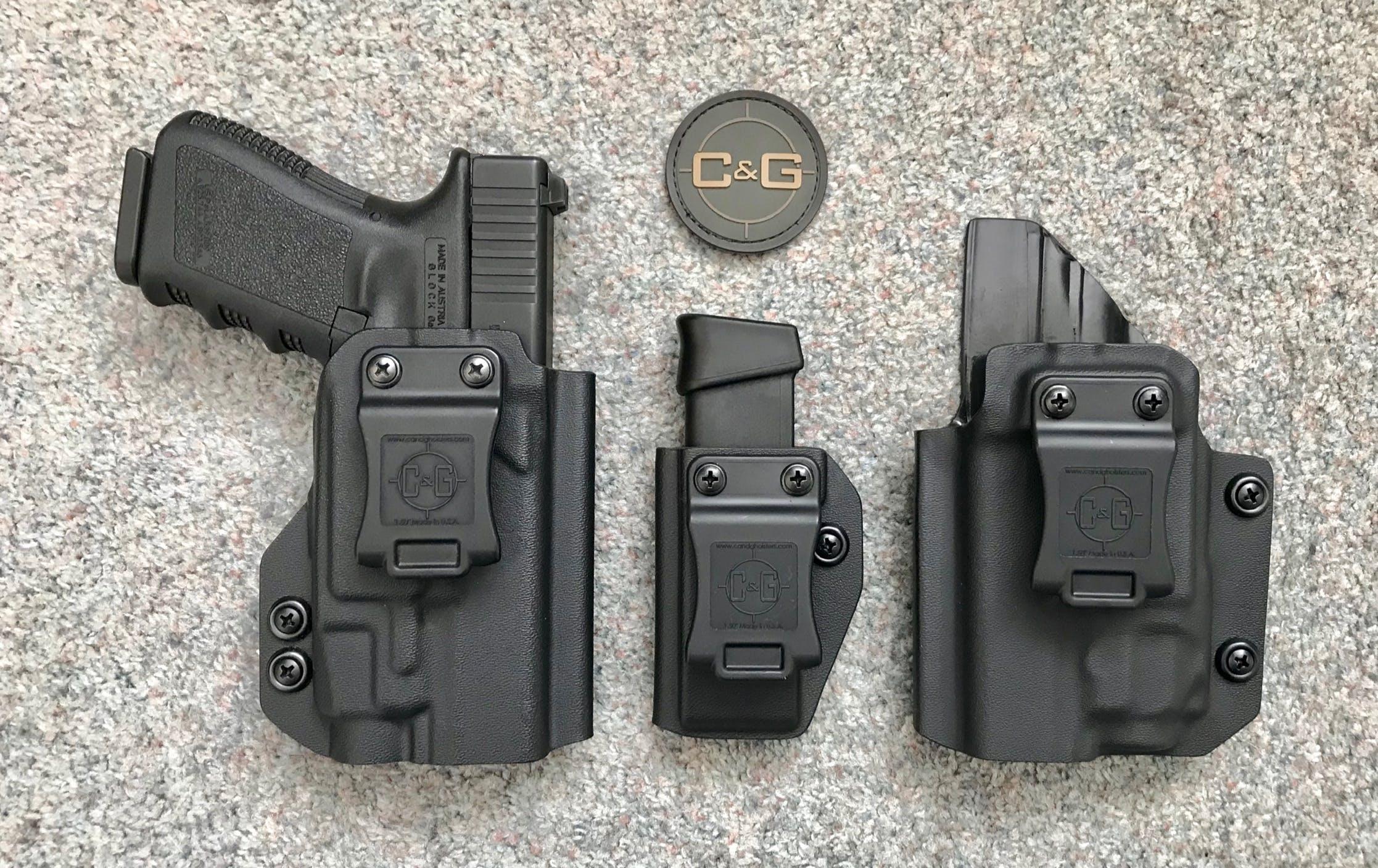 IWB Tactical (Light-Bearing) Kydex Pistol Holster - Custom