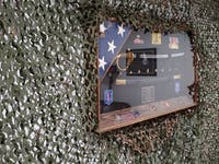 Woodland Military Reinforced Camouflage Netting