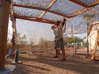 Desert Military Reinforced Camo Netting