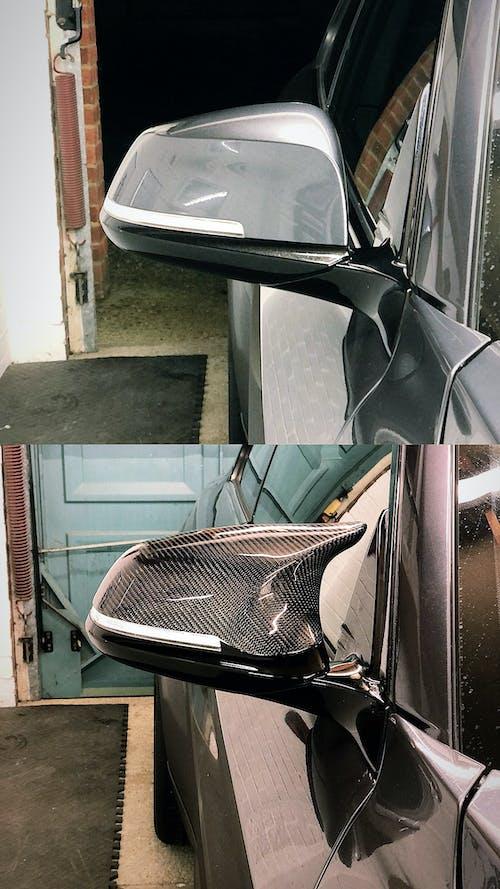 BMW F Series M3/M4 Style Carbon Fibre Mirror Cover Units
