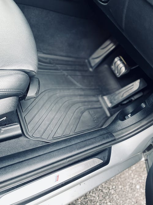BMW Automatic Stainless Steel Pedal Covers