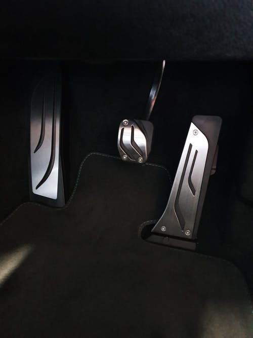 BMW M Automatic Stainless Steel Pedal Covers