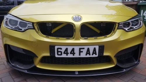 BMW F Series Coloured V Brace Clips